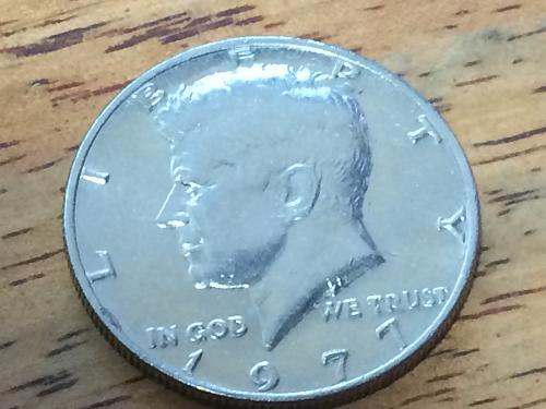 1977 P Kennedy Half Dollar #2