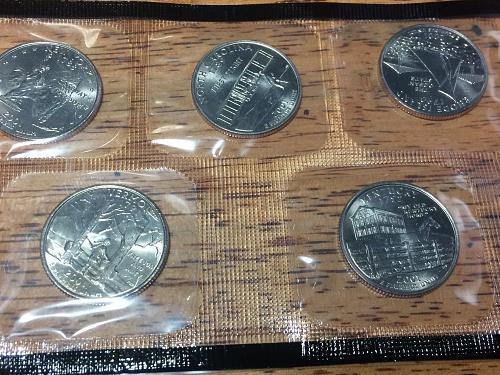 2001 D State Quarters