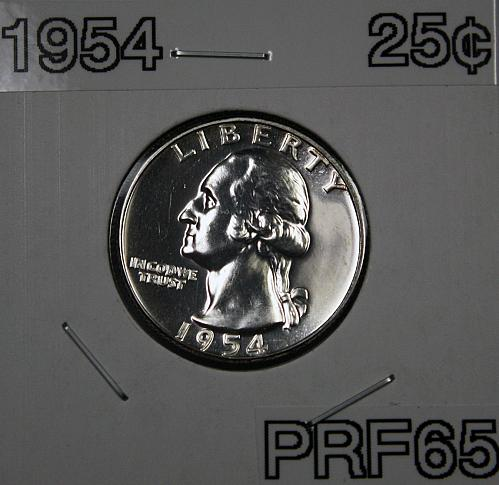 1954 Washington Quarter *** PROOF ***