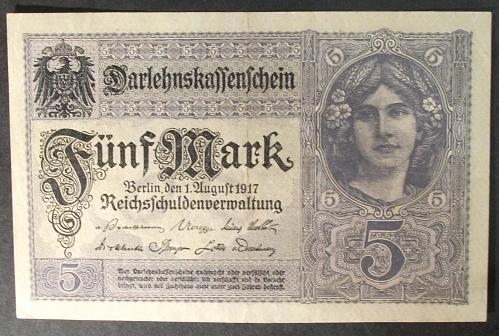 Germany P56b 5 Mark VF+