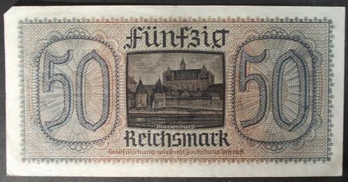 Germany/Third Reich R140 50 Reichsmark VF+ #2