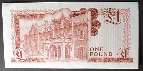 Gibraltar P20a Pound AU55 #2