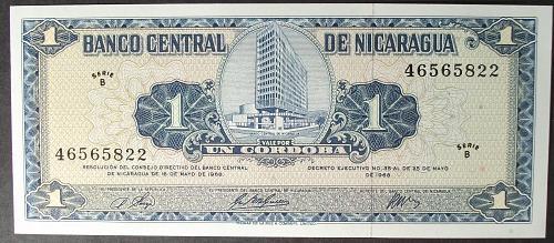 Nicaragua P115a Cordoba UNC63