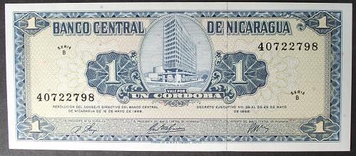 Nicaragua P115a Cordoba UNC64 #2