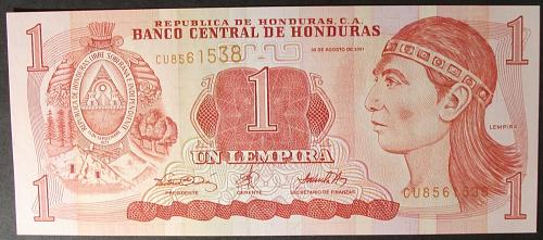 Honduras P84b Lempira UNC64