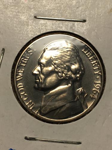 1964 Jefferson Nickel Item 0119216