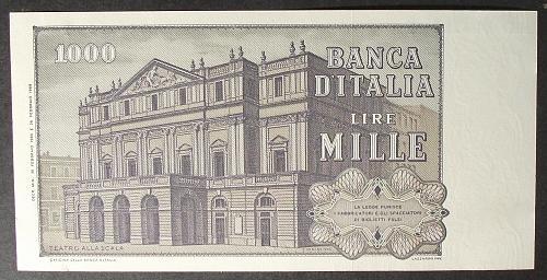 Italy P101g 1000 Lire UNC62 #2