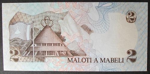 Lesotho P4a 2 Maloti UNC62