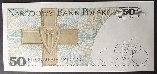 Poland P142b 50 Zlotych UNC63