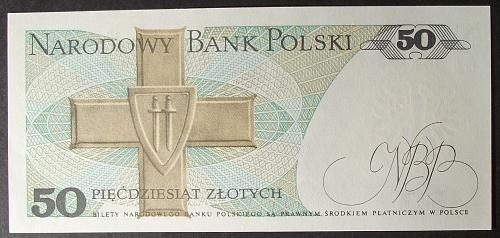 Poland P142c 50 Zlotych UNC64