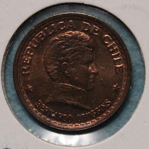 Chile 1942 50 centavos
