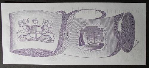 St. Helena P5a 50 Pence UNC63