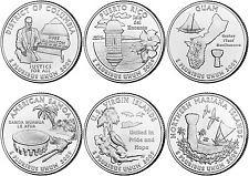 2009  P  QUARTER SET  ( 6 COINS )