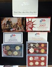 2007 14 piece Silver proof Set