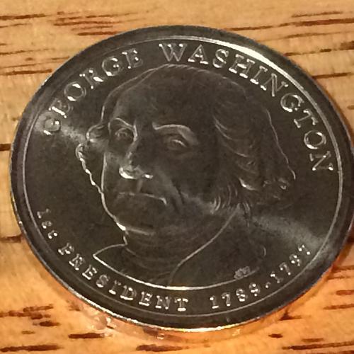 2007 P George Washinton Golden Dollar #3