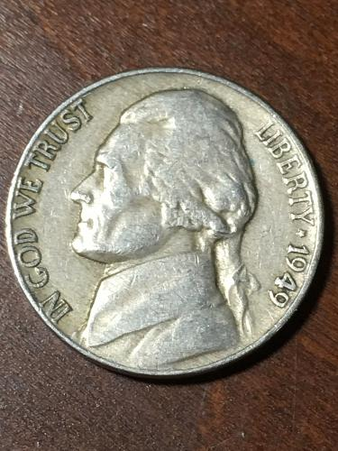 1949 Jefferson Nickel Item 0219332