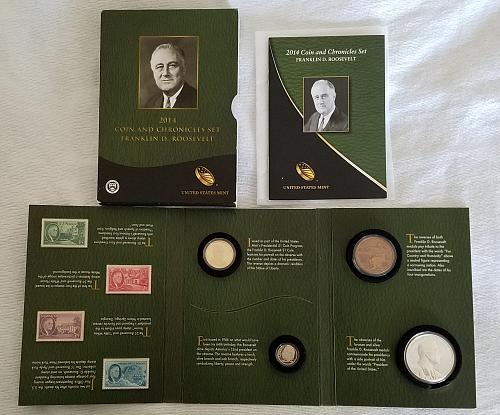 2014 Coin & Chronicles Set Franklin D. Roosevelt