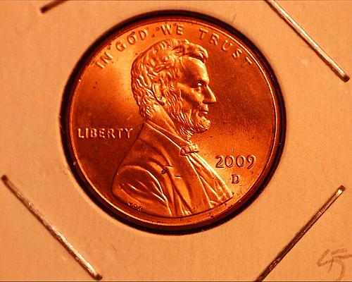 2009 D Lincoln Cent
