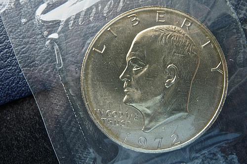 1972-S  Eisenhower Dollar Silver