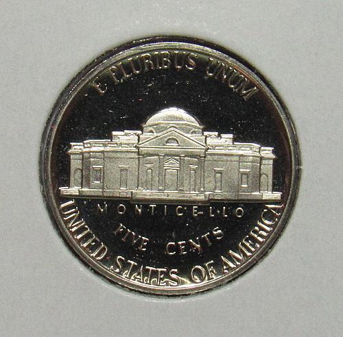 1979 S Proof Jefferson Nickel: Type 1 - Filled S