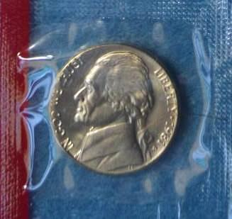 1981 D Jefferson Nickels