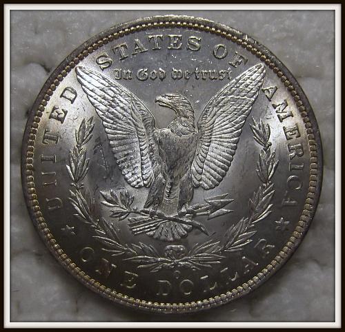 1885-O $1 Morgan Silver Dollar