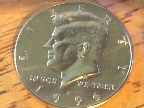 1996 D Kennedy Half Dollar