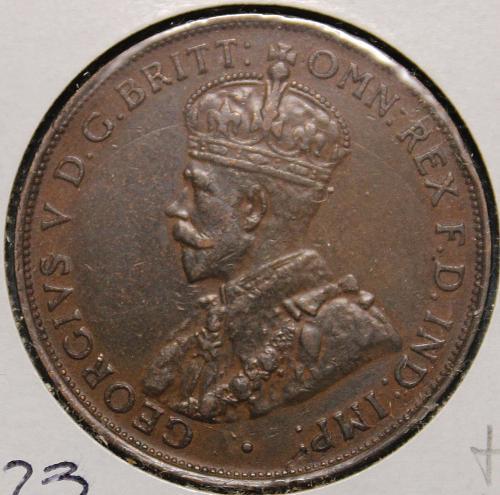 Australia 1936 1 penny