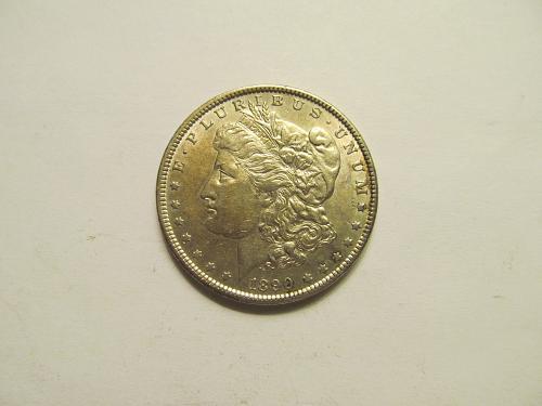 1890 Morgan Dollar   jm1d