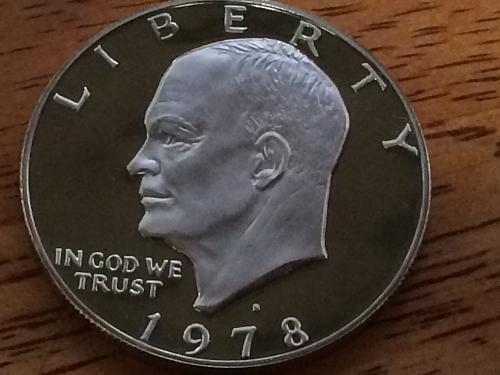 1978 S Eisenhower Proof Dollar