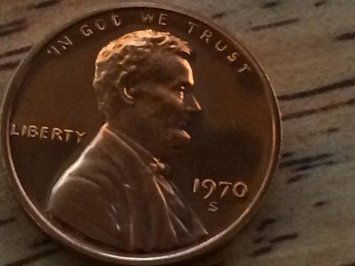 1970 S Lincoln Penny #3