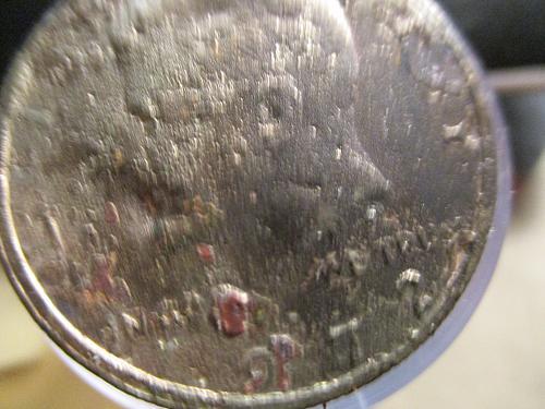 1972 Stamping Error on gold plated (Major Error)
