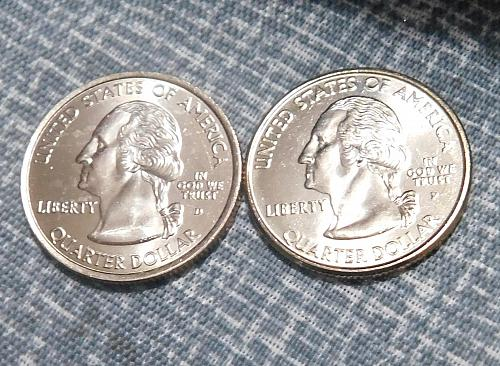 2002 P&D Tennessee State Quarters, Uncirculated