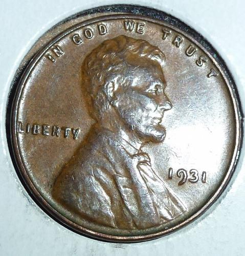 1931-P About Uncirculated Lincoln Wheat Cent  ( 661)