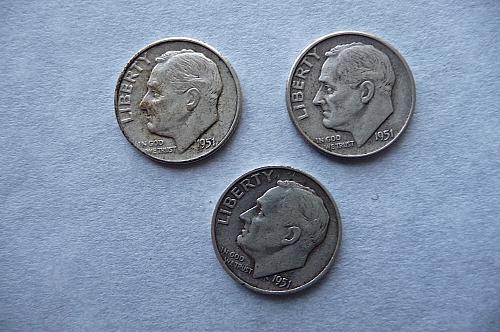 1951-P, D, S