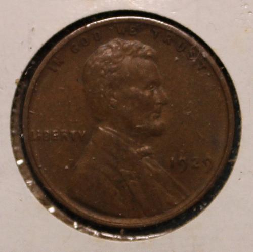 1929 P Lincoln Wheat Cent