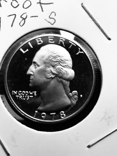 1978-S Proof Washington Quarter