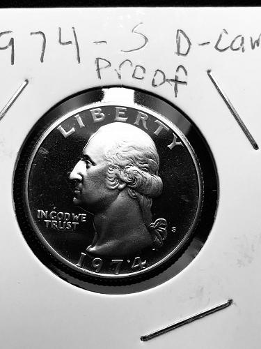 1974-S Proof Washington Quarter