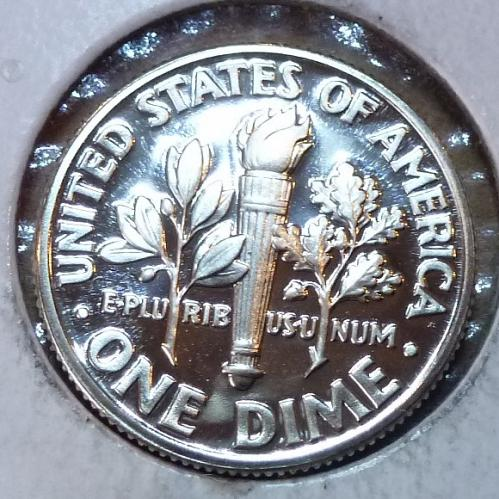 1997-S GEM Brilliant Proof Roosevelt Dime (3725)