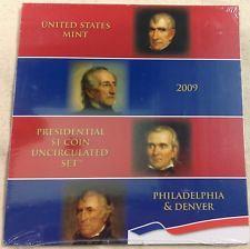 2009 US Mint Presidential Uncirculated Dollar Set