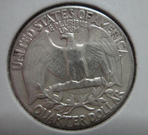 1963 TYPE B Washington Quarter Extra Fine-45
