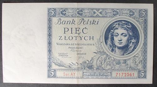 Poland P72 5 Zlotych XF