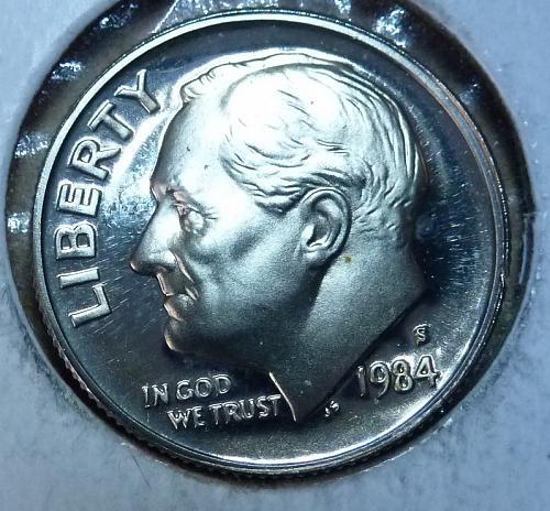 1984-S GEM Proof Roosevelt Dime ( 3706 )