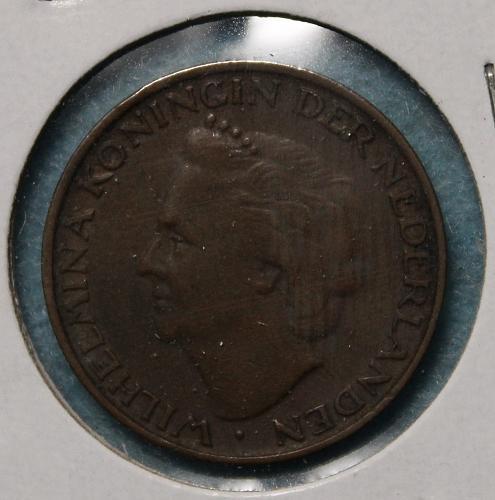 Netherlands 1948 5 cents
