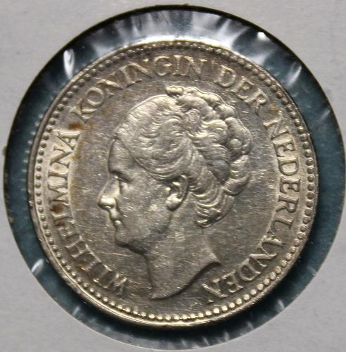 Netherlands 1929 1/2 Gulden