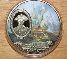 2014 Horatio Nelson Battle of Trafalgar 24k Gold layered Unc