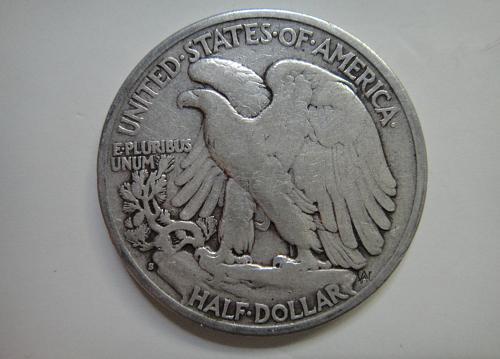 1928-S Walking Liberty Half Dollar Very Fine-20