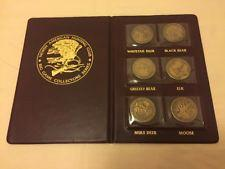 North American Hunting Club Big game Collectors Series Coins/Medals