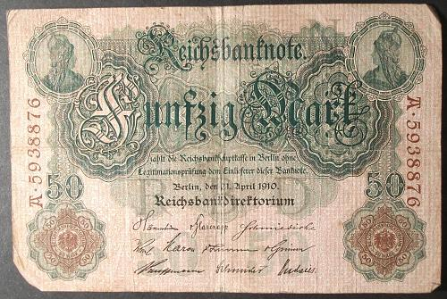 Germany P26b 50 Mark Fine