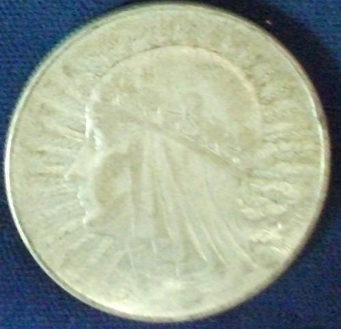 1932 Poland 10 Zlotych XF